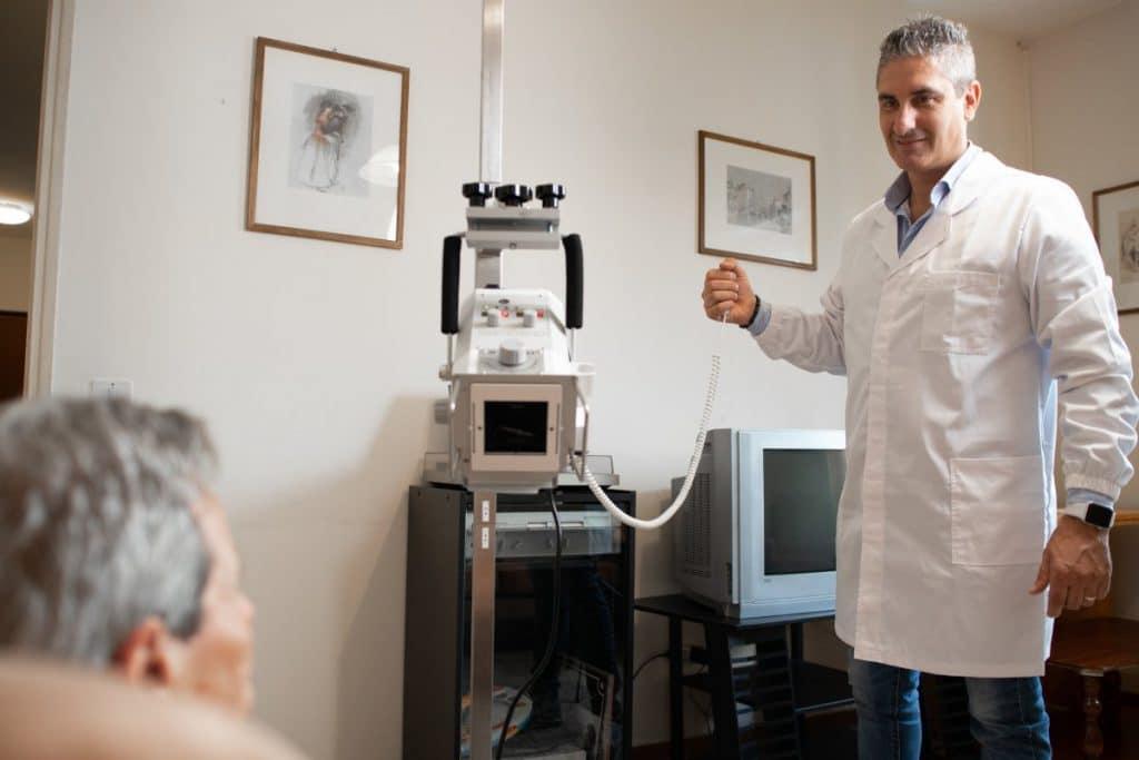 Tubo Radiogeno su stativo | Radiologia Domiciliare