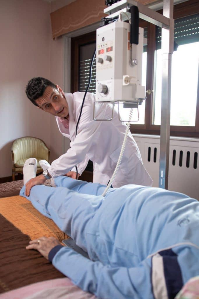 Radiologia Domiciliare: Minor disagio per il paziente