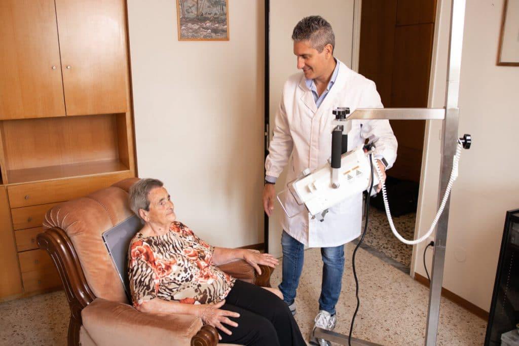 Radiografia torace a domicilio | LEG sr STP
