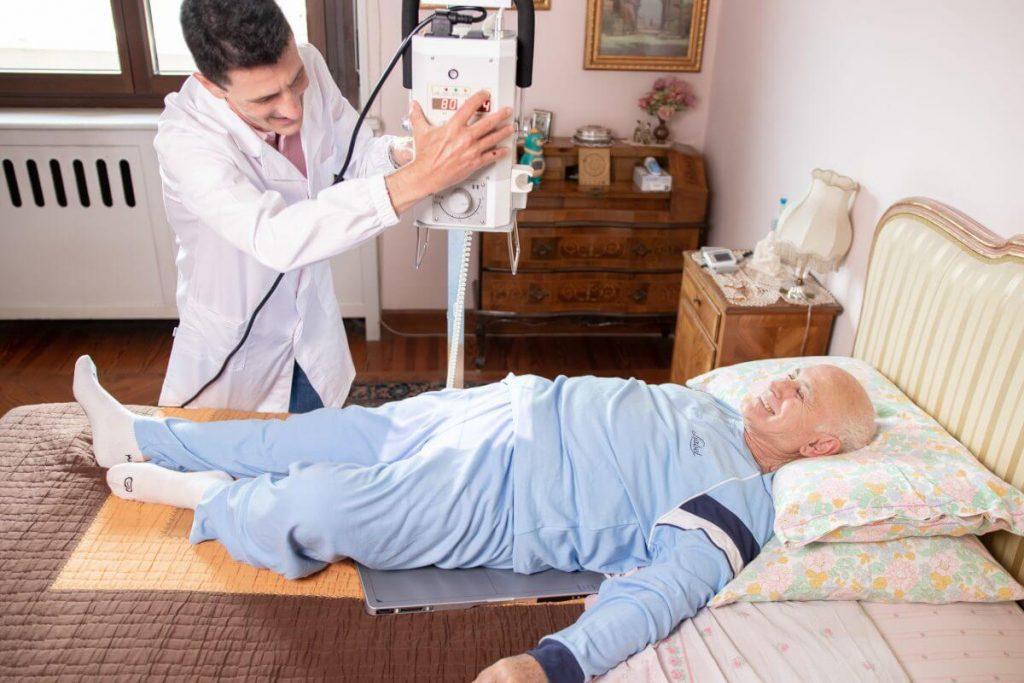 Radiografia dell'anca a casa